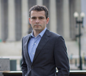 (RNS1-jun21) At 31, Ryan Anderson has become one of the leading millennials debating gay marriage. For use with RNS-ANDERSON-PROFILE, transmitted on June 21, 2013, Photo by Benjamin Myers.