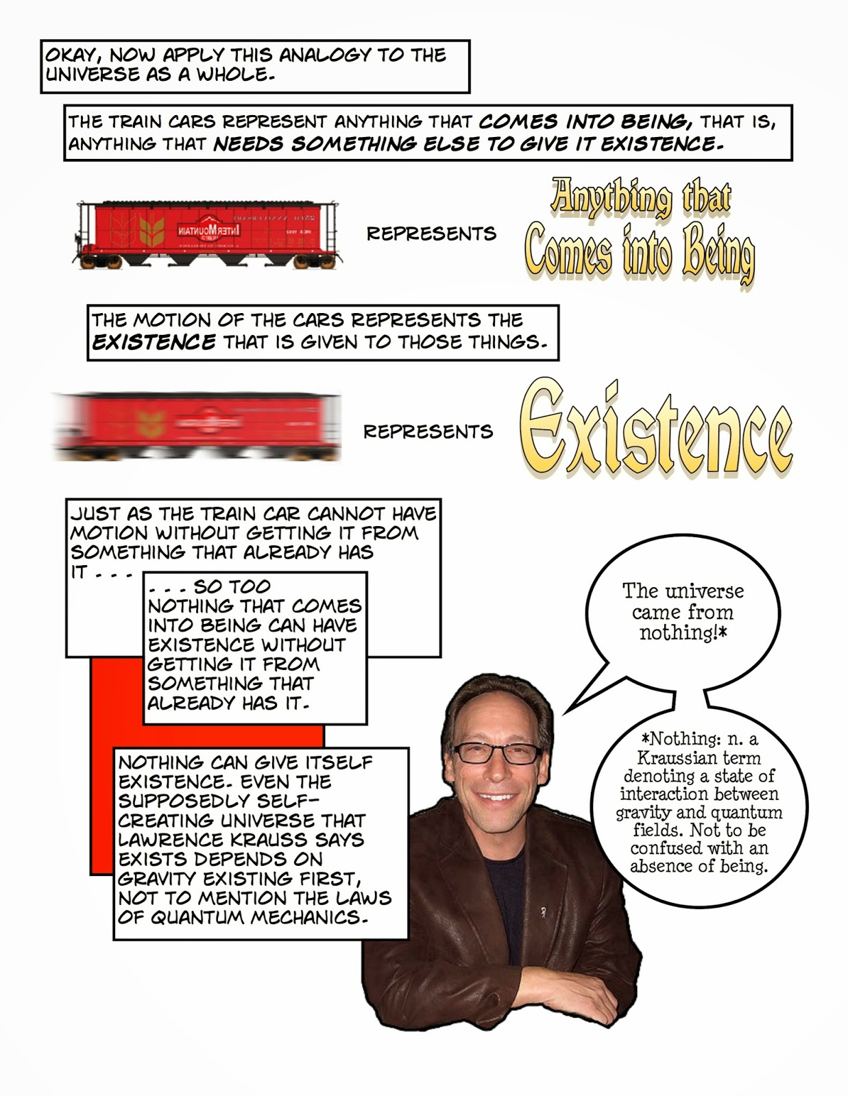 clarkes cosmological argument The strengths and weaknesses of the cosmological argument for the existence of god the cosmological argument seeks to prove the existence of god by looking at the universe it is an a posteriori proof based on experience and the observation of the world not logic so the outcome is probable or possible not definite.